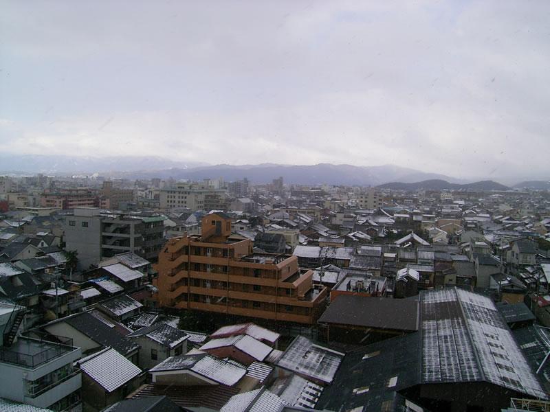 京の冬景色